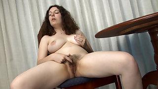 Hairy girl Tamar enjoys her lazy Sunday - Compilation - WeAreHairy