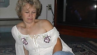 Busty and heavy amateur grannies