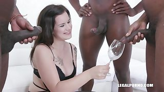 Desirable Thirsty Teenager Zara Assfucked drink pissing