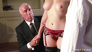 Passionate fucking ends relating to cum on boobs of Valentina Nappi