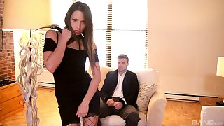 Gaping void maledom fetish porn for a fare hottie with great lines