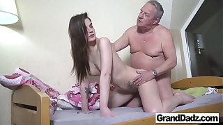 Old Perv wants to Cum in My Brashness