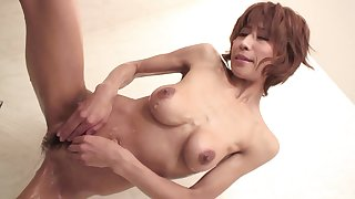 Japanese mature creamed on her bush check d cash in one's checks closeup sex