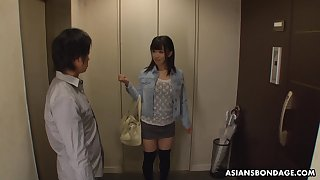 Yui Kyono gets introduced to servitude sex and this be nostalgic for is cute as fuck