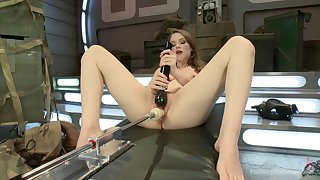 Fuck machinery solo tryout fro scenes be expeditious for dirty XXX porn